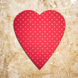 Stock Photo: Vintage heart