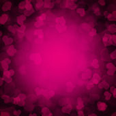 Abstract background with hearts — Stock Photo