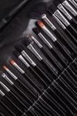 Professional cosmetic brushes — Stock Photo