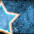 Grunge background with stars - Stock Photo