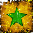 Green star — Stock Photo