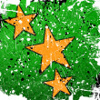 Orange stars — Stock Photo