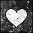 White heart — Foto de stock #21612491