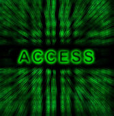 Word Access — Stock Photo