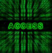 Word Access — Stock Photo