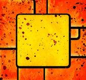 Kwadraty streszczenie tło grunge — Zdjęcie stockowe