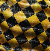 Checkered background with folds — Stock Photo