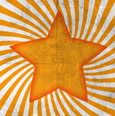 Orange star — Foto de Stock