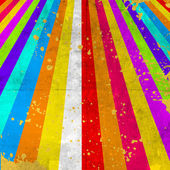 Grunge background with color stripe — Stock Photo