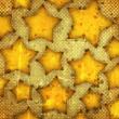 Abstract stars — Stock Photo