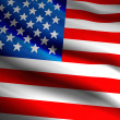 US Flag — Foto de Stock