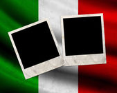 Grunge Italy flag — Stock Photo