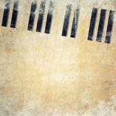 Musikaliska grunge bakgrund — Stockfoto