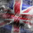 Stock Photo: Grunge england flag