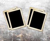 Blank photo frames — Stock Photo