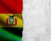 Bandera de bolivia grunge — Foto de Stock