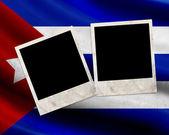Grunge Cuba flag — Stock Photo