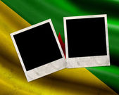 Grunge French Guiana flag — Stock Photo
