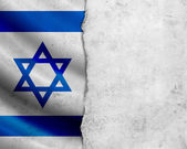 Grunge Israel flag — Stock Photo