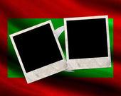 Bandiera delle maldive grunge — Foto Stock