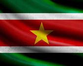 Grunge Surinam flag — Stock Photo