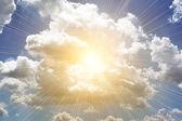 Beutiful clouds — Stock Photo