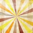 Multicolor Sunbeams grunge background — Stock Photo