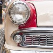 Retro car headlight — Photo