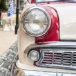 Retro car headlight — Stok fotoğraf