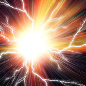 Electric flash background — Stock Photo
