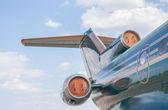 飛行機の着陸 — ストック写真