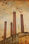 Old factory — Stockfoto