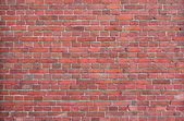 Background of red brick wall — Stock Photo