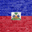 Stock Photo: Grunge Haiti flag