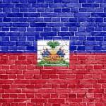 Grunge Haiti flag — Stock Photo