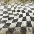 Vivid grunge chessboard backgound — Stock Photo #30685481