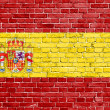 Grunge Spain flag — Stock fotografie #30685513