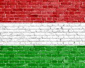 Grunge Hungary flag — Stock Photo