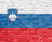 Grunge Slovenia flag — Stock Photo