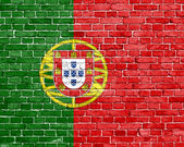 Grunge Portugal flag — Stock Photo