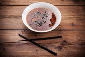 Sopa de miso japonesa — Foto de Stock