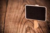 Small chalkboard — Stock Photo