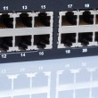 Stock Photo: Ethernet switch