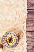 Old treasure map — Stock Photo