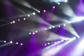 Bright stage lights — Stock Photo