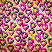 Abstract hearts — Stockfoto