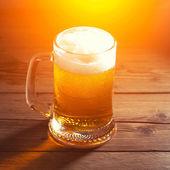 Kubek piwa — Zdjęcie stockowe