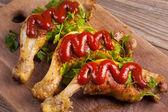 Pollo frito — Foto de Stock