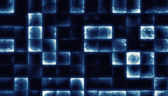 Abstract background made from glowing grunge tiles — Stock Photo