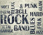 Grunge roomGrunge rock poster — Stock Photo
